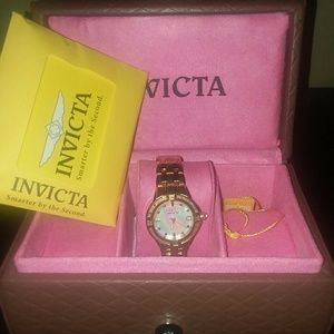 Invicta 0268 Goldtone Stainless Steel Watch